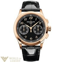 Patek Philippe Complications 39.4mm Rose Gold Black Dial Men`s...