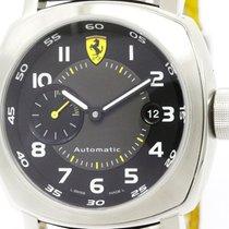 Panerai Polished  Scuderia Ferrari Steel Automatic Mens Watch...
