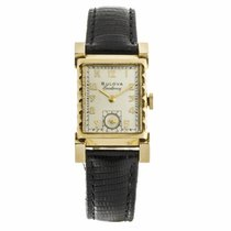 Bulova Excellency Gold Filled Watch
