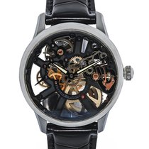 Maurice Lacroix Masterpiece Skeleton Mechanical Men's Watch –...