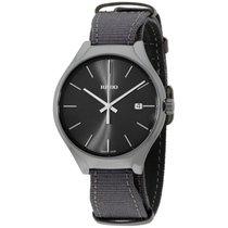 Rado True Black Dial Fabric Strap Men's Watch R27232106