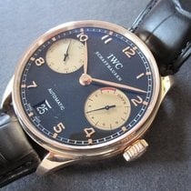 IWC Portugieser 7 days power reserve Boutique Edition rosegold