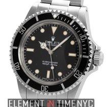 Rolex Submariner No-Date Black Crackled 'Spider' Dial...