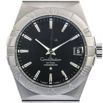 Omega Constellation Co-Axial Stahl Automatik 38mm
