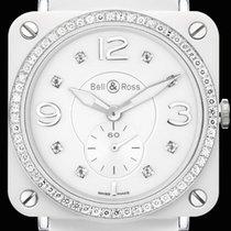 Bell & Ross Aviation BRS Phantom White Diamonds