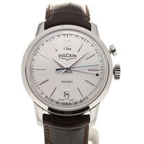 Vulcain 50s Presidents' Watch 39 Silver-toned Dial