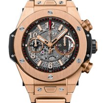 Hublot Big Bang Unico Chronograph 18k Rose Gold Rubber...