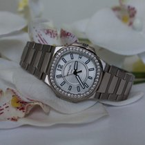 Patek Philippe Nautilus Silver Dial Stainless Steel Ladies