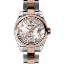 Rolex Lady-Datejust 26 179161-SLVJDO Silver Jubilee Diamond...