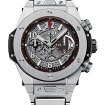 Hublot Big Bang Unico Automatic Titanium Chronograph Bracelet...