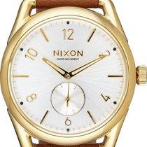 Nixon C39 Leather A459-2227 Herrenarmbanduhr Design Highlight