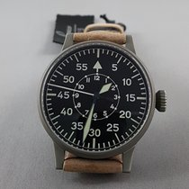 Laco Flieger Beobachtungsuhr Airman's large dial luminous