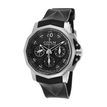 Corum Admiral's Cup Challenger Chronograph Black Dial
