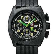 Luminox Mens Tony Kanaan PC Carbon Chronograph - Black Case...