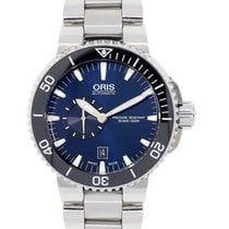 Oris Aquis 7673 Small Second, Date Gents Watch