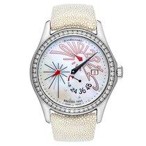 JeanRichard Women's Bressel Flying Hands Watch