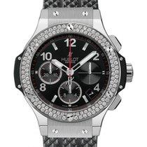 Hublot Big Bang 342.SX.130.RX.114 Black Arabic Diamond Bezel...
