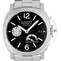 Panerai Luminor Power Reserve Men's Stainless Steel Watch...