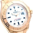 Rolex 18K Yachtmaster  - Engraved