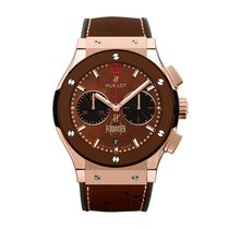 Hublot Classic Fusion King Gold Brown Ceramic