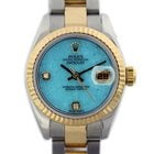 Rolex 179173 Datejust Factory Turquoise Diamond Dial