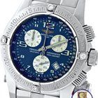 Breitling Emergency Mission Chronograph Blue Diamond A73321...