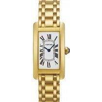 Cartier Tank Americaine Ladies' Watch 18K Yellow Gold