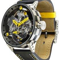B.R.M Racing Watch R50 Auto Piston Titanium Case 48hr Power...