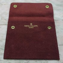 Patek Philippe VINTAGE 1970's burgundy LEATHER SERVICE POUCH