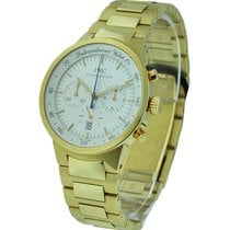 IWC GST Chronograph Automatic in Yellow Gold