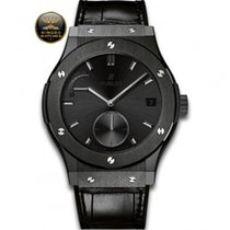 Hublot - CLASSIC FUSION POWER RESERVE ALL BLACK