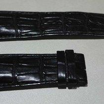 Franck Muller 27-22mm Genuine Alligator Leather black Band...