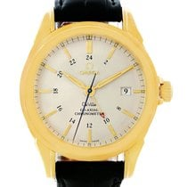 Omega Deville Co-axial Gmt 18k Yellow Gold Mens Watch 4633.30.31