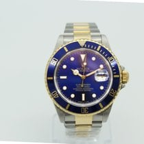 Rolex Submariner Two-Tone Steel Yellow Gold Blue Dial 16613
