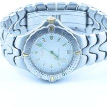 Ebel Sportwave Herren Uhr 37mm Stahl/stahl Uhr  E 6187631...