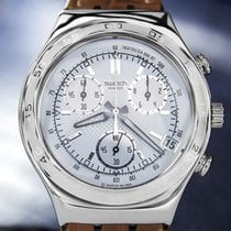 Swatch Stainless Swatch Chronograph Irony Stainless Swiss Made...