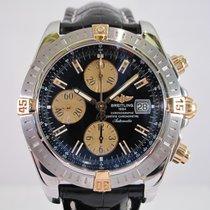 Breitling Chronomat Evolution Gold/Steel Black