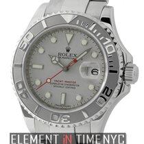 Rolex Yacht-Master Stainless Steel Platinum Bezel 40mm 2008...