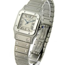 Cartier Santos Square Steel Large Size Quartz