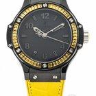 Hublot Big Bang Tutti Frutti Black Lemon Quartz Ref. 361.CY.11...