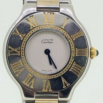 Cartier Must 21 Two Tone  / Gold - Steel [ No Box&Papers ]