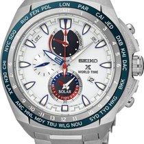 Seiko Prospex SEA Solar World Time SSC485P1 Herrenchronograph...
