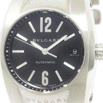 Bulgari Polished  Ergon Steel Automatic Mid Size Watch Eg35s...