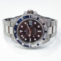 Rolex GMT Master II 116759 SA sapphires & diamonds