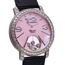 Chopard Happy Diamonds- Happy time 18k white gold diamonds