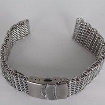 Heavy mesh bracelet For vintage Heuer, Omega, Breitling