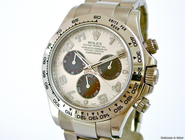 Rolex Daytona Cosmograph, Ref. 116509, 18k White Gold