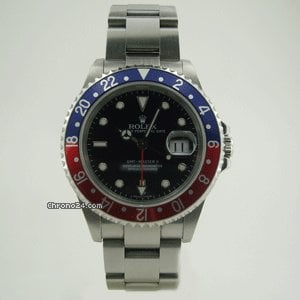 Rolex GMT MASTER 2 STEEL 2 TONE BEZEL