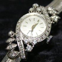 Lido Orologio in oro bianco 750 e diamanti