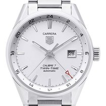 TAG Heuer Carrera Calibre 7 Twin-Time Automatik 41 mm WAR2011....